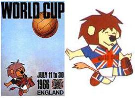 Mascotas del Mundial de Fútbol - 1966 a 2010