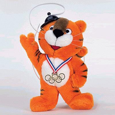 Todas las mascotas de los juegos olímpicos